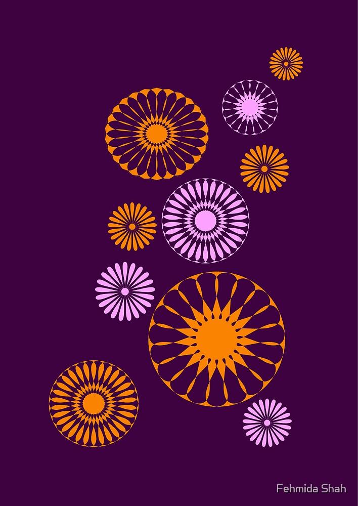 flowerwheel by Fehmida Shah