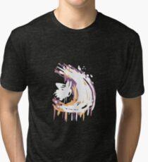 Camiseta de tejido mixto Hollow Knight Great Slash