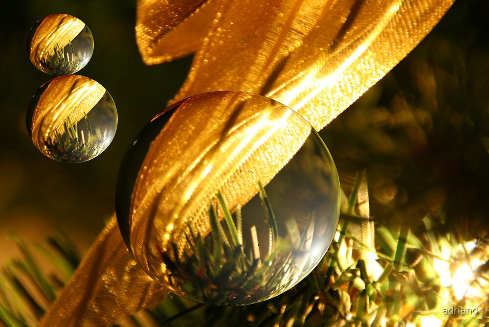Christmas balls by adriano