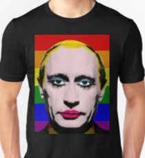 Gay Putin Flag Unisex T-Shirt