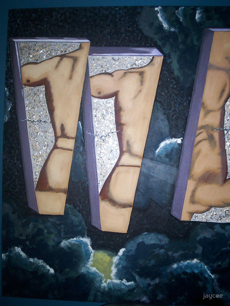 Men-R-Manequins 2 of 2 (diptych) by jaycee