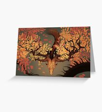 The Spirit of Autumn Greeting Card