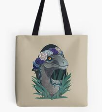 Clever Girl - Blue Tote Bag