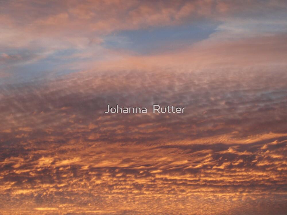 Sunset by Johanna  Rutter