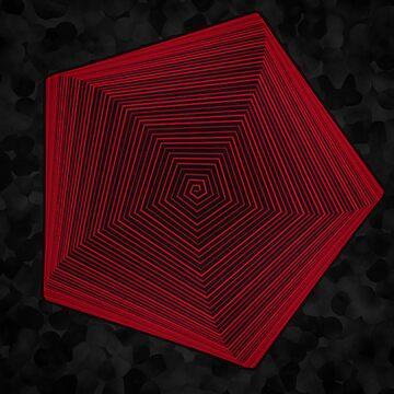 Pentagonal Spiral by Rowan