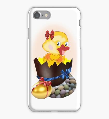 Easter Chick (4608 Views) iPhone Case/Skin