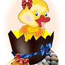 Easter Chick (4608 Views) by aldona