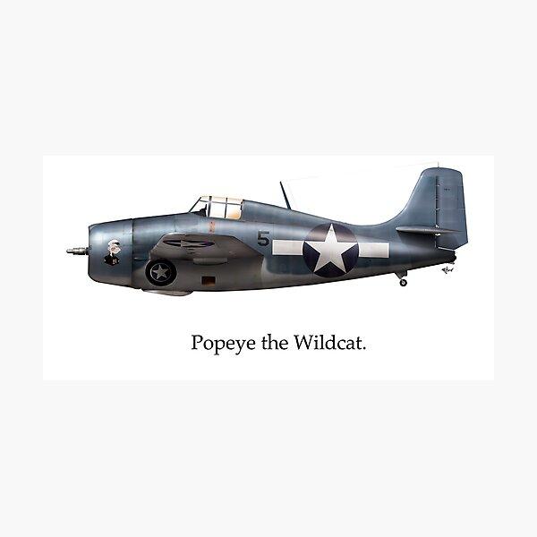 Popeye the Wildcat Photographic Print