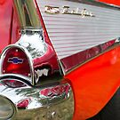 Red, chrome and blue - Belair by Norman Repacholi