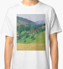 Henri Martin - The Heights Of Labastide-Du-Vert With The House Of M. Pellet Classic T-Shirt