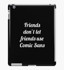 Comic Sans iPad Case/Skin