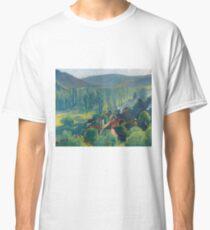 Henri Martin - Labastide-Du-Vert, View To The Roofs, 1930 Classic T-Shirt