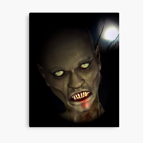 The Ghoul Canvas Print