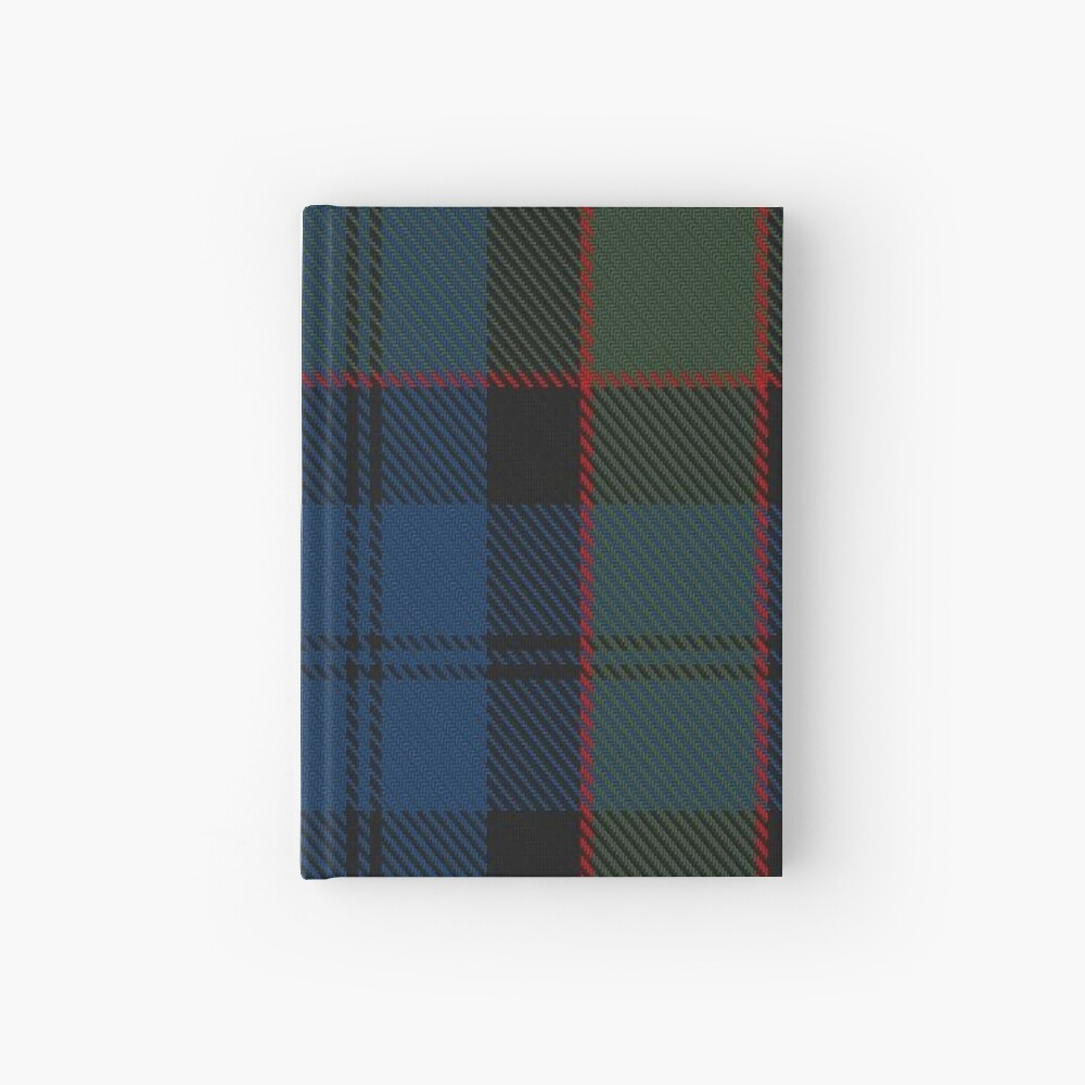Riddoch Clan/Family Tartan  Hardcover Journal