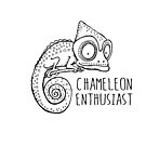 Chameleon Enthusiast by jitterfly
