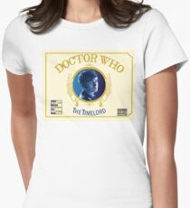 The Time Lord CHRONIC Womens Fitted T-Shirt