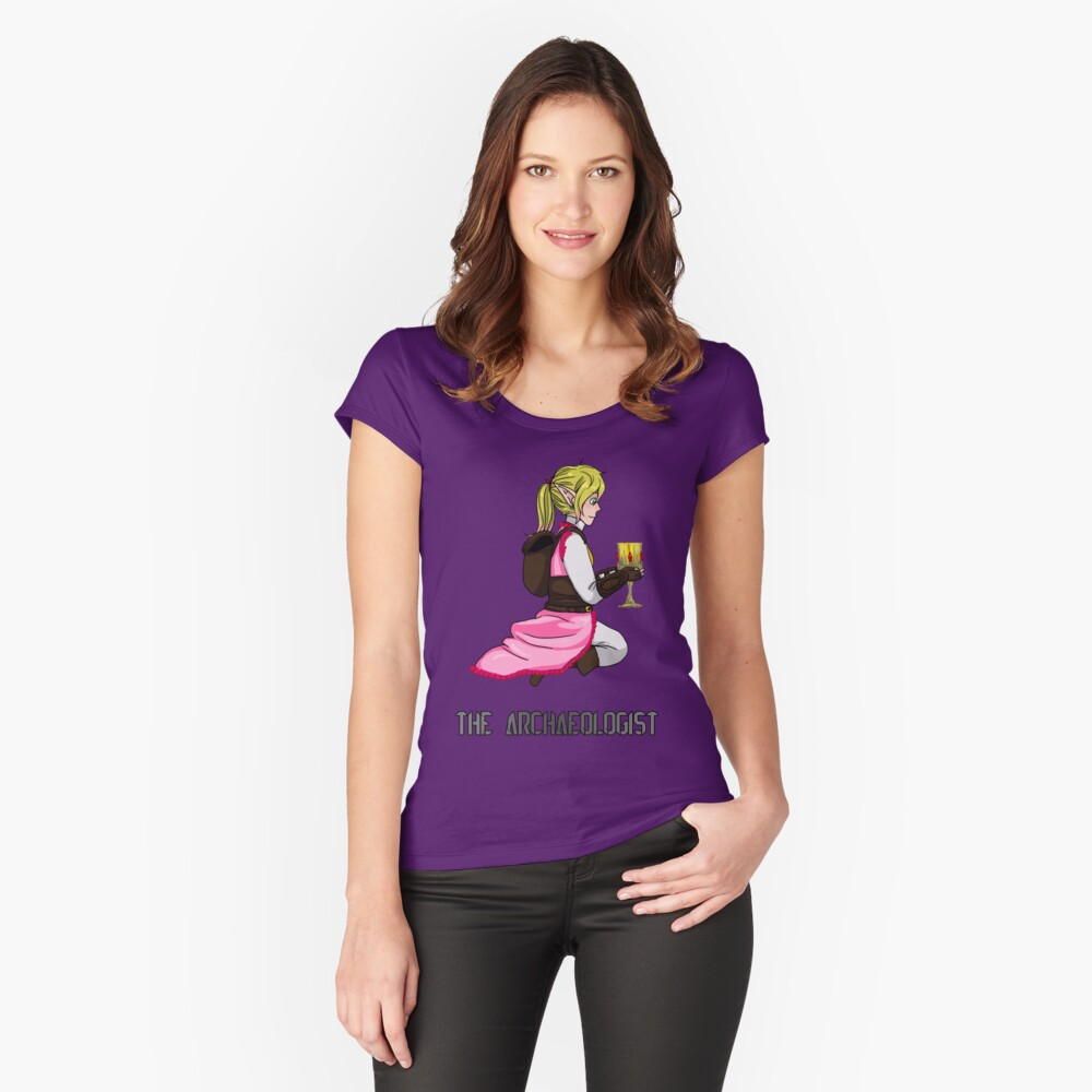 The Haunted - Mia: The Archaeologist Women's Fitted Scoop T-Shirt Front