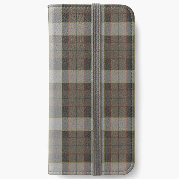 Outlander Fraser Tartan  iPhone Wallet