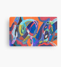 """Color Rush"" Canvas Print"
