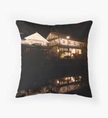 Kurashiki-shi Bikan at Night Throw Pillow
