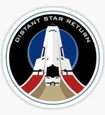 Distant Star Return Sticker