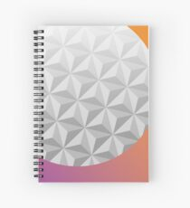 Epcot Center Spiral Notebook