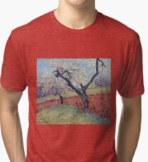 Henri Martin - An Old Plum Trees, 1940 Tri-blend T-Shirt