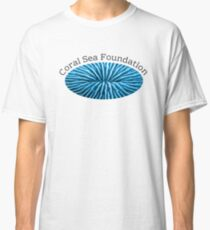 Coral Sea Foundation logo - black text Classic T-Shirt