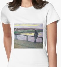 Henri Lebasque - Sunset On Pont-Aven (Young Man In Front Of The Sea) T-Shirt