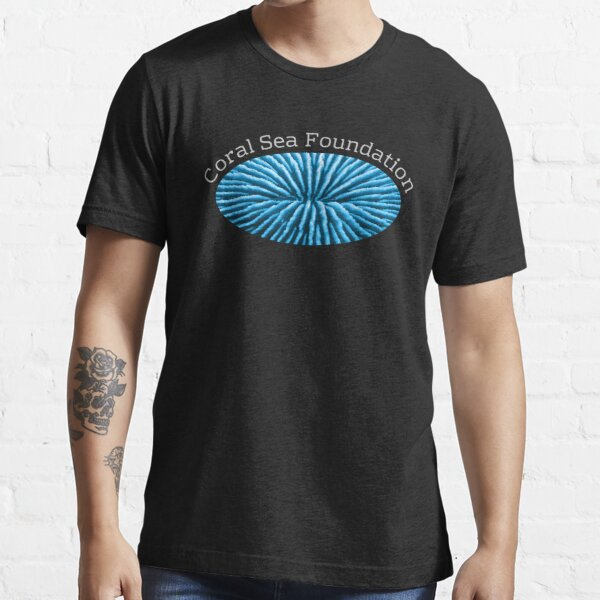 Coral Sea Foundation Logo - white text Essential T-Shirt
