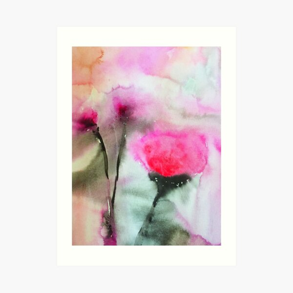 Bloom is Off the Rose Art Print