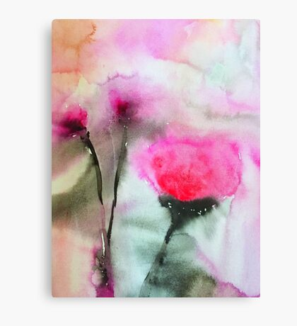 Bloom is Off the Rose Canvas Print