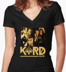 KARD - Oh NaNa (4 Members) Women's Fitted V-Neck T-Shirt