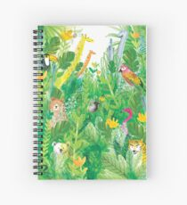 Friends of the Forest Spiral Notebook
