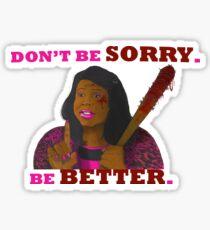 I am Meegan  Sticker