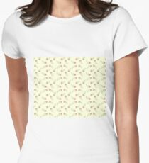 Tiny Flowers  Women's Fitted T-Shirt