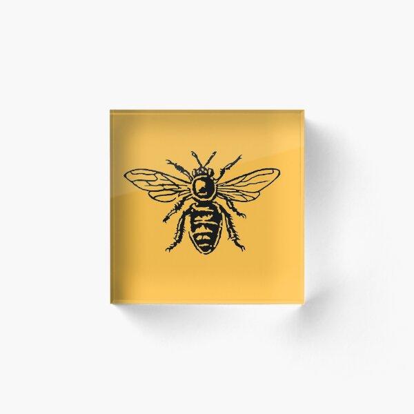Honey Bee Acrylic Block