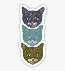 3 Kittens Sticker