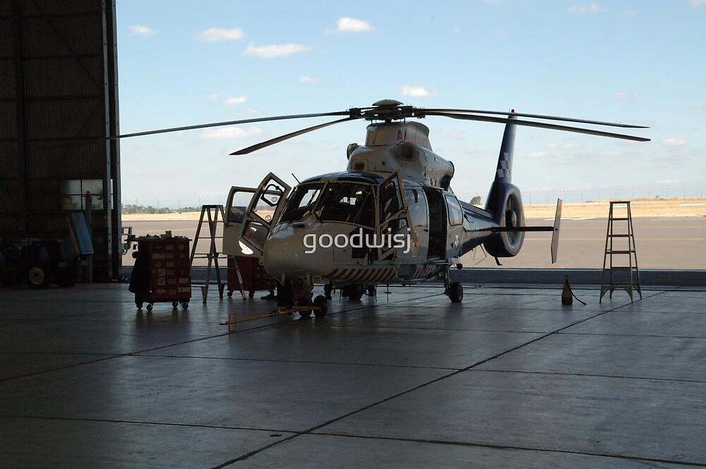 Dauphin - Air Ambulance by goodwisj