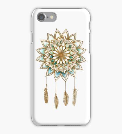 Lotus Flower Dreamcatcher iPhone Case/Skin