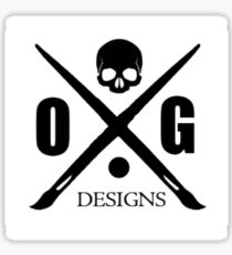 OG Cross Sticker