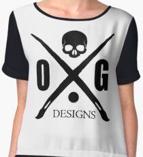 OG Cross Chiffon Top