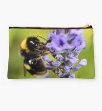 Bumble Bee & Lavender Studio Pouch