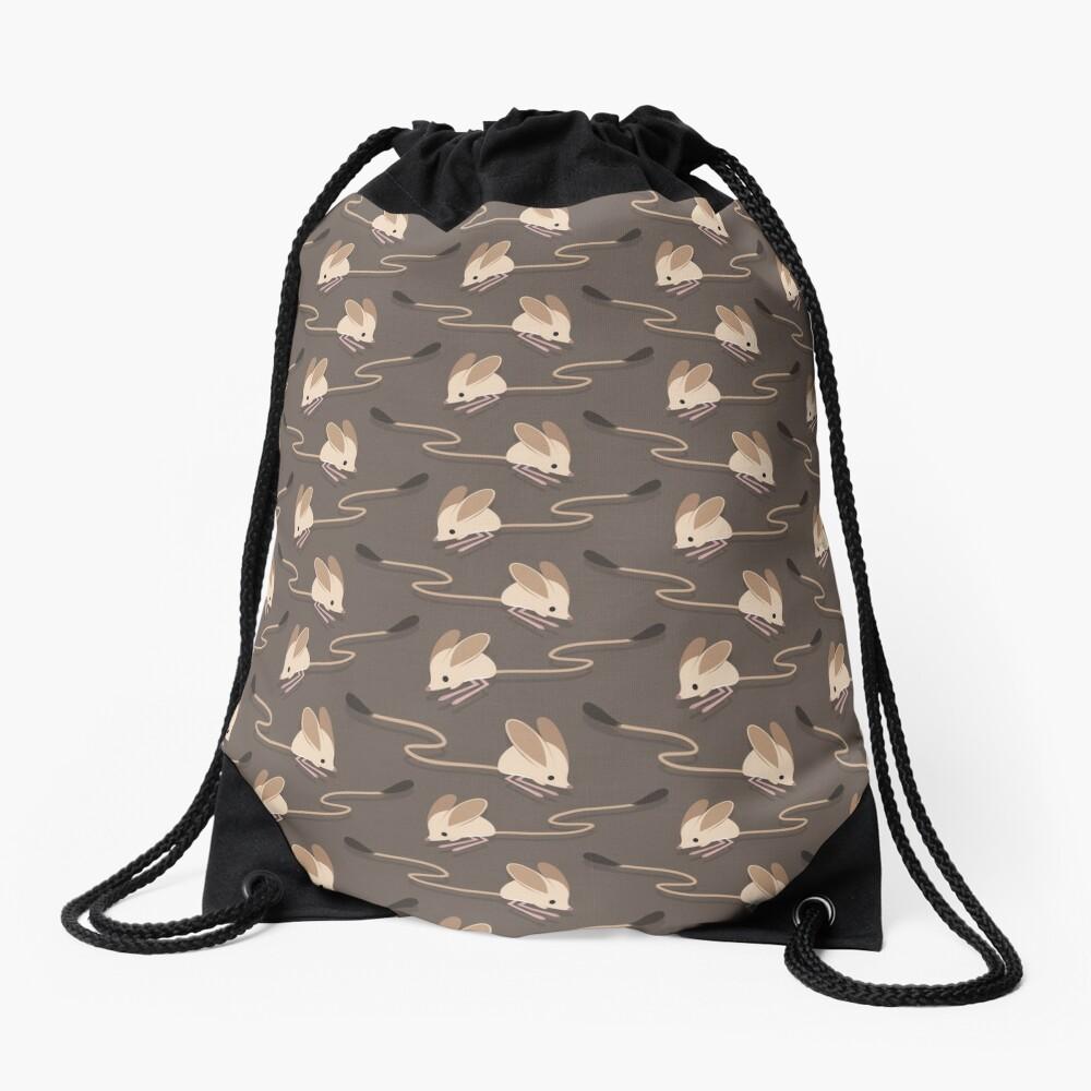 Long eared jerboas Drawstring Bag