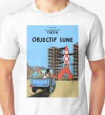 Tintin Destination Moon Cover T-Shirt