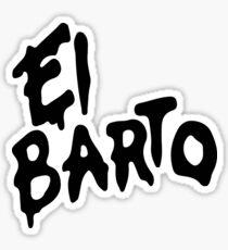 El Barto Sticker