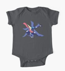 Greninja with Water Kanji Kids Clothes