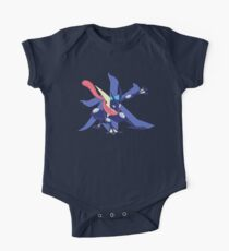 Greninja with Water Kanji One Piece - Short Sleeve