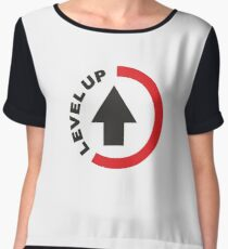 LEVEL UP V2  Women's Chiffon Top