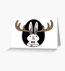 Hello Jackalope! Greeting Card